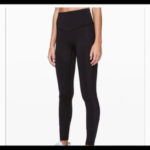 """Lululemon All The Right places tights - 28"""""""